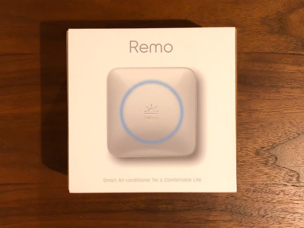 Nature Remoに家電を登録する方法。