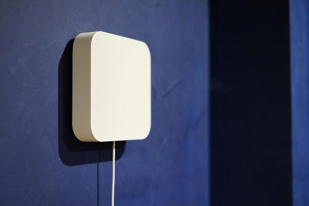 視覚と音で空間をデザイン。「無印良品 壁掛式Bluetoothスピーカー」