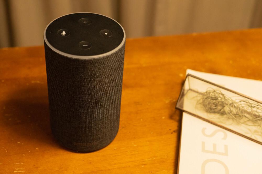「モノ」というには違和感がある。Amazon Echo・Echo Dotで未来体験。