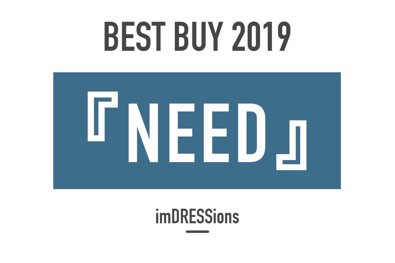 BEST BUY 2019『NEED』。買って良かった「つかうモノ」。