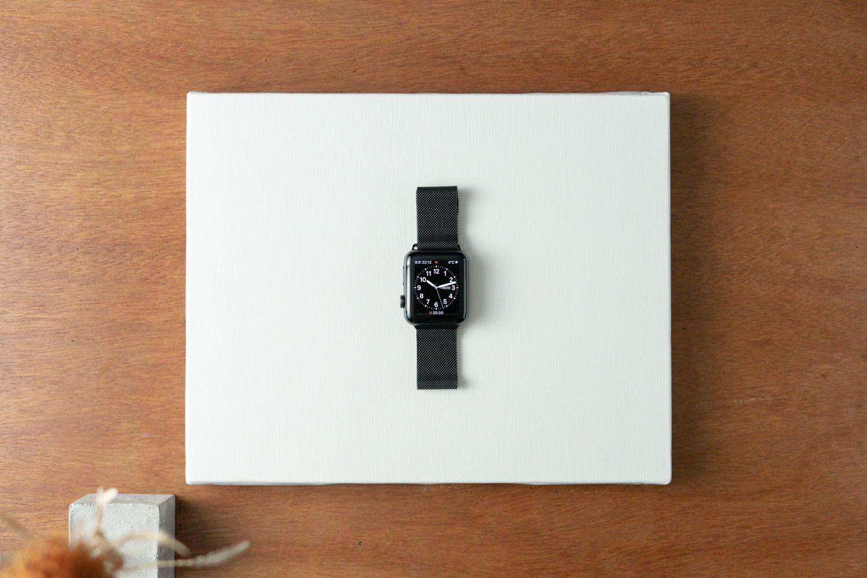 ブツ撮り用の「キャンバス」とApple Watch