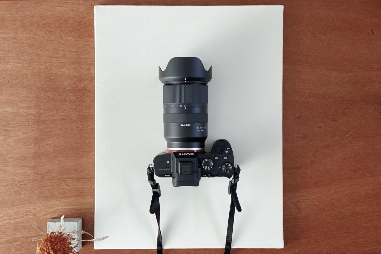 Tamron28-75mm F2.8 Di III RXDとα7II