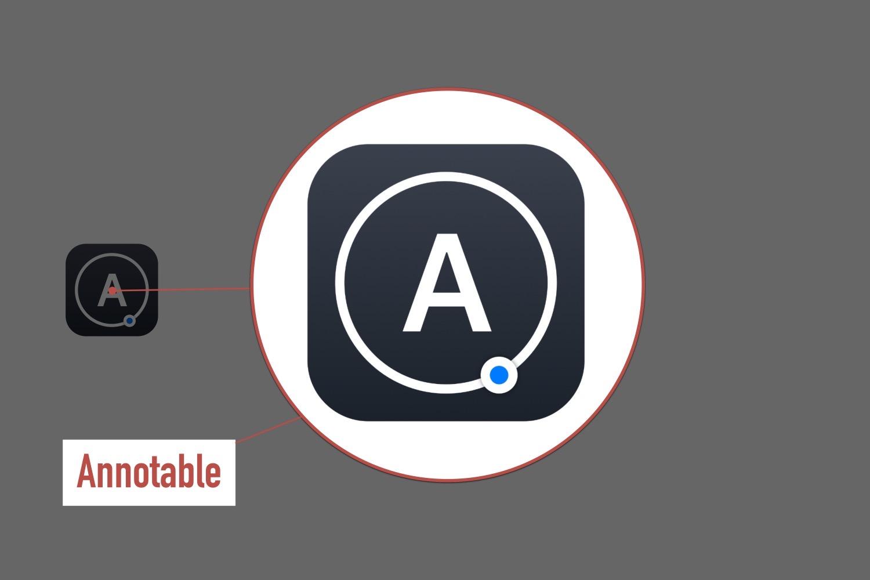iPad注釈アプリの決定版。『Annotable』