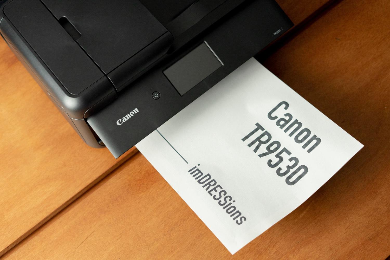 デジタルとアナログを使い分ける。iPhone・iPadからプリントするなら「Canon TR9530」A3プリンター。